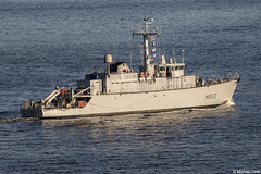 Marine Nationale (French Navy) Tripartite-class minehunter, Céphée M652; Firth of Clyde, Scotland (Michael Leek Photography) Tags: ship warship navalvessel nato navalexercise minehunter france french frenchnavy marinenationale maritime natoexercise natowarships boat jointwarrior jointwarrior2019 clyde firthofclyde hmnbclyde hmnb hmsneptune faslane gareloch westcoastofscotland westernscotland scotland scottishcoastline scottishlandscapes scotlandslandscapes scottishshipping gourock inverclyde michaelleek michaelleekphotography
