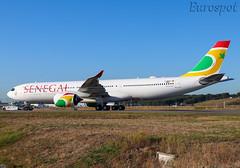 F-WWYN Airbus A330 Neo Air Senegal (@Eurospot) Tags: lfbo toulouse blagnac airbus a330 neo a330900 1923 fwwyn 6vanb airsenegal