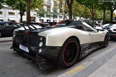 Pagani Zonda Cinque Roadster (Monde-Auto Passion Photos) Tags: voiture vehicule auto automobile cars pagani zonda cinque roadster spider cabriolet convertible hypercar rare rareté qatar georgev france paris
