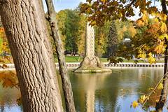 """Fountain """"Golden Ear"""" is already off for the winter. View from the cafe """"Old Place"""". (SVOknaVDNH) Tags: goldenear fountain oldplacecafe autumn fall vdnh vacationwolf ïðèðîäàðèñóåò ôîòîñåò theglobewanderer travellerau ôîòîñúåìêà íàïðèðîäåõîðîøî travellingthroughtheworld ïðèðîäà igstreet lessismoreoutdoors takemebackpacking streetphoto picstitch photogram traveling streetview ëþáëþïðèðîäó vscoarchitecture capturestreets travellove moscow fujifilm fujinon"""