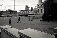 Street Crossin (dmitriy.marichev) Tags: leica leicam m typ 262 leicamtyp262 summilux35 35mm street city dmitriymarichev monochrome blackandwhite