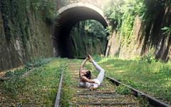 (dimitryroulland) Tags: nikon d750 85mm 18 dimitryroulland paris france flexible people flexibility green tunnel performer art artist dance dancer circus nature natural light yoga petite ceinture
