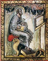 18 Евангелие Эббона.  Лука. 816-820 .