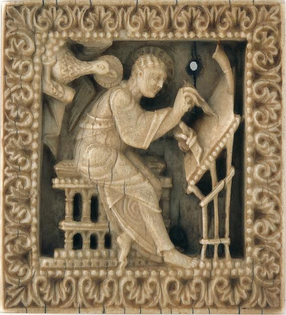 37 Иоанн Богослов Франция; IX в. местонахождение Германия. Дармштадт.