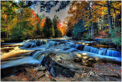 Upper Bond Falls (Tom Mortenson) Tags: michigan geotagged bondfalls cascades waterfall michiganup pauldingmichigan upperpeninsula canon5ds canon canoneos canondslr tonemapping usa america scenic northamerica digital colorful autumn fall waterscape nature beauty northwoods middlebranch ontonagonriver haighttownship ontonagoncounty midwest yoopers fallcolors fallfoliage river outdoors scenicsite westernup stream flow forest park rocks bondfallsscenicsite greatlakesregion puremichigan picturesque