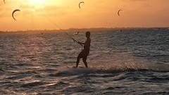 Barra Grande - Sunset (sileneandrade10) Tags: sileneandrade pôrdosol kitesurf bgk barragrande piauí viagem turismo landscape paisagem mar praia água vento esporte ação nikon nikoncoolpixp1000 nikoncorporationcoolpixp1000 kitesurfzone