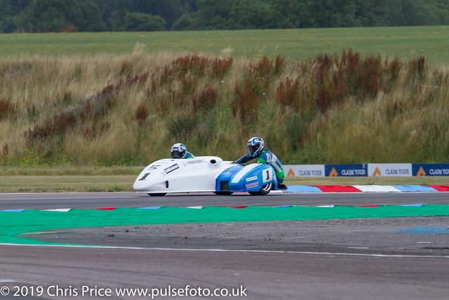 Thruxton 2019 - Sidecar Practice