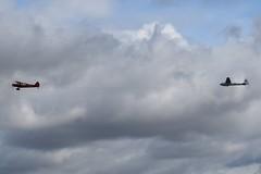 G-SVAS Piper PA18 Super Cub towing BGA1697 (VV400) Elliotts Olympia 2B glider (graham19492000) Tags: oldwarden gsvas piper pa18 supercub bga1697 vv400 elliotts olympia2b glider