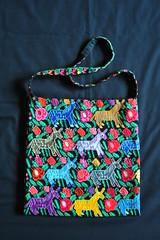Mexican Textiles Embroidery Bags Bolsa Maya Chiapas (Teyacapan) Tags: burros bolsa bag purse mexico chiapas mayan textiles embroidered