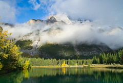 Cascade Ponds (Bernie Emmons) Tags: banffnationalpark cascadeponds alberta mountains clouds sunshine lakes sony a6000 explore travel ponds natureandnothingelse