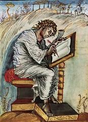 17 Евангелие Эббона. 816-820 Матфей