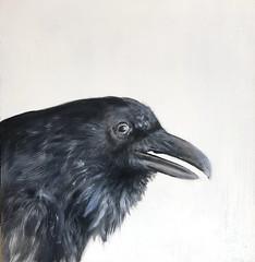 cuervo140x40 (luis lara cabrera) Tags: pintura painting art lara arte luis cuervo acrilico contemporaneo abstracto figurativo artista maestro rojo figuras shapes color colores