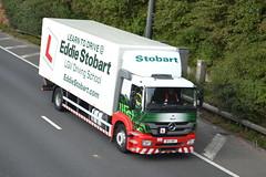 Eddie Stobart Mercedes BF11VMP - M60, Stockport (dwb transport photos) Tags: mercedesbenz antos stockport rach ds2 m60 bf11vmp truck eddiestobart