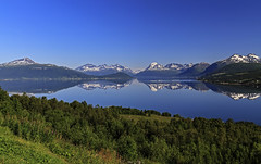 Balsfjord (ketil.melby) Tags: troms norway sky fjord landscape reflection mountains sea