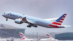 Boeing 787-9 Dreamliner N820AL American Airlines (William Musculus) Tags: london heathrow lhr egll airport aviation plane airplane spotting n820al american airlines boeing 7879 dreamliner aa aal
