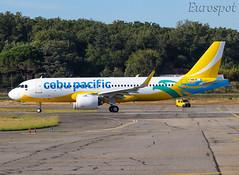 F-WWIM Airbus A320 Neo Cebu Pacific (@Eurospot) Tags: lfbo toulouse blagnac rpc4109 fwwim airbus a320 neo 9244