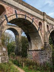 Marple marvels (OzzRod) Tags: pentax k1 hdpentaxdfa28105mmf3556 viaduct aquaduct arches masonry marpleaquaduct marple england