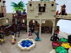 Aladdin-Streets of Agrabah (ben_pitchford) Tags: lego legodisney legocastle aladdinmovie disneyprincess disneyjasmine castles castlefan disneyphotography legophotography toyphotography legohub legobricks legomoc legofan afol legominifigure legoideas