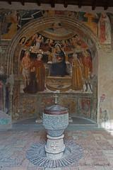 Il Castello di Santa Severa (Michele Monteleone) Tags: michelemonteleone45 2019 canon 5dmarkiii muro chiesa battistero dipinto affresco castello italia pavimento