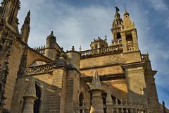 Catedral de Sevilla - Conjunción gótica y renacentista (jaseto2009) Tags: fe35mmf28za sonyilce7 sevilla andalucía españa catedraldesevilla gótico renacimiento