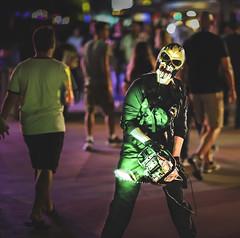 Clown Scare Actor 2 at Universal Orlando's Halloween Horror Nights 2019 (hernandez.philip) Tags: halloweenhorrornights halloween hauntedhouses hauntedattraction makeup costume orlando florida