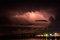 Nightstorm (Markus Branse) Tags: nightstorm seenfromstokeshillwharf darwin northernterritory australia seen from stokes hill wharf northern territory gewitter nooamah notthern austalien austral australie aussie oz thunder thunderstorm storm lightning blitze bolt unwetter wetter weer meteo weather wolken cloud clouds wolke outback hell nacht langzeitbelichtung nite night nuit himmel