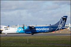 ES-ATA ATR72-600 Nordica Airlines (elevationair ✈) Tags: dub eidw dublin airport dublinairport ireland avgeek aviation airplane plane departure prop turboprop atr nordica airlines nordicaairlines loganair esata