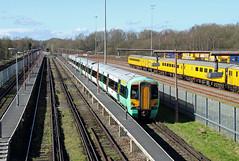 377312 Tonbridge West Yard (CD Sansome) Tags: tonbridge train trains west yard electrostar tsgn gtr govia thameslink railway southern great northern 377 377312