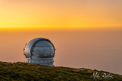 Awaiting the night .. (Mike Ridley.) Tags: gtctelescope roquedelosmuchachos roquedelosmuchachosobservatory lapalma telescope sunset canaryislands sonya7r2 sony2470fegm mikeridley