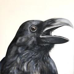 cuervo250x50 (luis lara cabrera) Tags: pintura painting art lara arte luis cuervo acrilico contemporaneo abstracto figurativo artista maestro rojo figuras shapes color colores