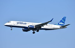 N283JB ERJ190 Jet Blue (corrydave) Tags: 19000125 erj erj190 embraer n283jb jetblue boston