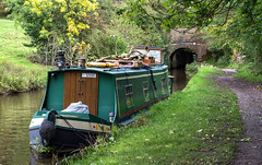 Life on water (OzzRod) Tags: pentax k1 smcpentaxda55300mmf458 boat narrowboat canal peakforestcanal path marple england
