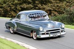 GMC Chevrolet (1950) (Roger Wasley) Tags: 797yux gmc chevrolet prescott classic car vehicle speedhillclimb