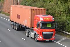 Buckley Transport DAF DG14DCY - M60, Stockport (dwb transport photos) Tags: buckleytransportltd daf hgv truck dg14dcy m60 stockport