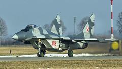 MiG-29G (kamil_olszowy) Tags: mig29g siły powietrzne rp fulcrum a fighter polish air dorce 4113 22stafb malbork królewo malborskie smoker миг29г ввс польши изделие 912а