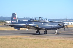156110 (LAXSPOTTER97) Tags: rcaf royal canadian air force ct156 harvard ii raytheon aircraft company 156110 cn pf10 15 wing 2 cffts forces flying training school airport airplane aviation khio 2018 oregon international airshow