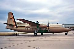 HC-BGI   Fairchild FH-27F [34] (Aerolineas Condor) Dallas-Love Field~N 10/11/1982 (raybarber2) Tags: 34 airportdata alpechacollection cn34 ecuadorcivil filed flickr hcbgi kdal planebase propliner slide