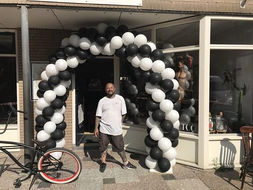 Ballonboog 6m Tattoo Studio Art for Life Spijkenisse