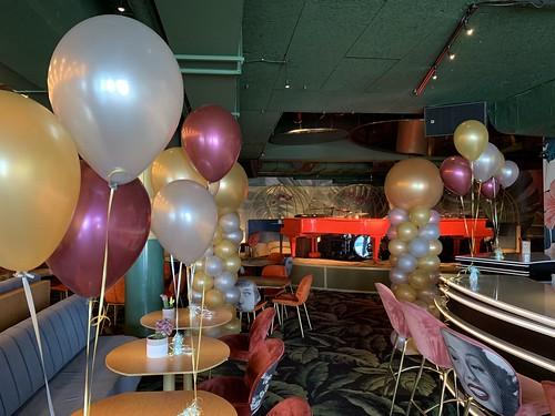 Tafeldecoratie 3ballonnen Crazy Pianos Scheveningen