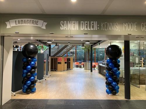 Ballonpilaar Breed Hoge School Rotterdam