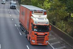 Mulgrew Transport Scania CSZ7029 - M60, Stockport (dwb transport photos) Tags: mulgrewtransportltd scania hgv truck csz7029 m60 stockport