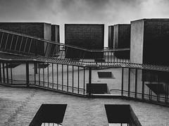 Barcode (Therese Østberg) Tags: barcode oslo norway norge arcitecture arkitektur blackandwhite svarthvitt bw olympus olympusomdm1mrk2 1240 architecture bygg stairs stair window vindu trapper trapp building visitnorway visithamar