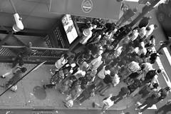 Waiting at the pedestrian crossing (jaume zamorano) Tags: blackandwhite blancoynegro blackwhite blackandwhitephotography blackandwhitephoto bw d5500 ground gente monochrome monocromo nikon noiretblanc nikonistas nyc ny nycity pov people street streetphotography streetphoto streetphotoblackandwhite streetphotograph urban urbana