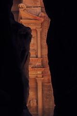 1060 First View Of Treasury (Hrvoje Simich - gaZZda) Tags: outdoors buildings old ancient tourism treasury petra jordan asia travel nikon nikond750 nikkor283003556 gazzda hrvojesimich nopeople