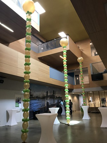 Ballonslinger met Cloudbuster Diplomering EBOH de Passie Rotterdam