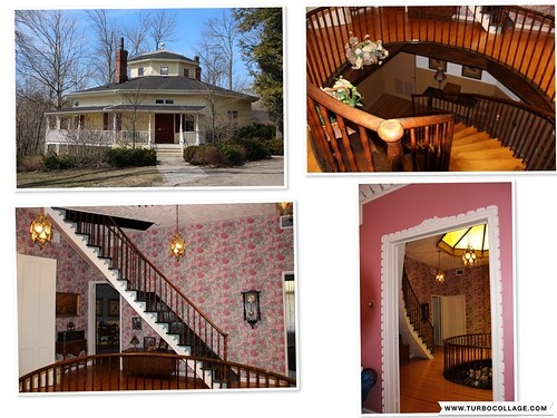 Octagon House Architecture -  Port Hope Ontario - Canada -  - Center Area - Heritage