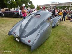 1936 Bugatti Type 57S Atlantic (BenGPhotos) Tags: 2019 goodwood festivalofspeed fos car show 1936 bugatti type 57s atlantic type57 943yub 57473 french luxury classic cartier styleetluxe concours