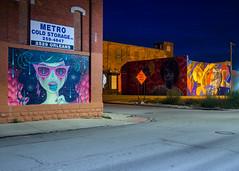 PA060962 (elsuperbob) Tags: detroit michigan easternmarket nightscenes emptyspaces emptystreets murals muralsinthemarket art streetart