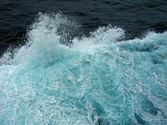 Sailing On Through (kfocean01) Tags: water nature blue cruise abstract sea azure azureblue waves