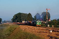 ST44-1103 (pedro4d) Tags: pkp cargo st44 st441103 m63 gagarin iwan taigatrommel kolej pociąg towarowy łubowo polska rano lato diesel train railway